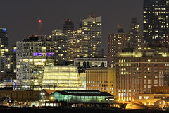 further (frank maiello) Tags: new york city nyc west building skyline night river pier highway marine long exposure aviation side sigma telephoto ave tc hudson 100 300 11th f28 57 nyfd iac 2x