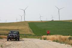 Boone County, Nebraska (twm1340) Tags: county 2001 trip windmill sport electric nebraska power jeep 4x4 wind petersburg ne adventure generator rv electrical camper motorhome boone 2012 wrangler passingwind