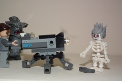 Maybe the camera was evil after all (Paranoid from suffolk) Tags: camera lego minifigs 2012 minifigures cars2