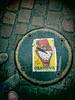 OBAMANIA (chilirv) Tags: streetart sticker obama nantes banania obamania