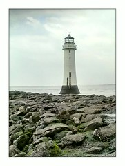 New Brighton Lighthouse (Mike Parr) Tags: lighthouse water architecture liverpool river landscape wallasey wirral merseyside landscapephotography rivermersey wirralpeninsula newbrightonlighthouse mikeparr perchrock perchrocklighthouse mikeparrphotography