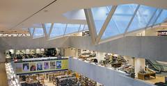 Aalto Skylights (ken mccown) Tags: architecture suomi finland helsinki modernism alvaraalto academicbookshop