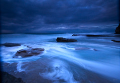 Full run out (fischstarr) Tags: longexposure blue holiday sunrise nikon rocks tripod centralcoast copa terrigal sigma1020mm runout swirlingwater wpm singhrayfilters d7000
