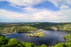 le de Grangent (Simon Pouyet) Tags: france castle nature river island landscapes nikon raw rivire tokina loire chteau paysages hdr hdri le d90 barage 1116