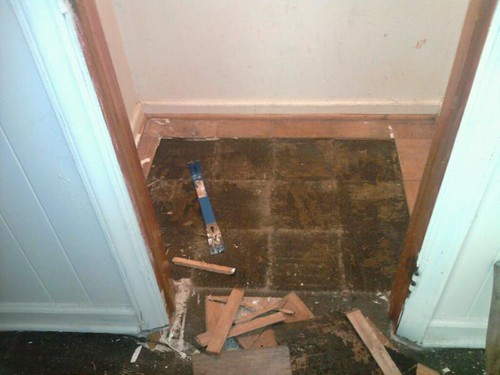 10 Asbestos Flooring Ripped Out