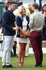 Molly King and Henry Holland Veuve Clicquot Gold Cup - Polo tournament held at Cowdray Park Polo Club Midhurst, England