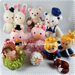 Brincando de massinha (Andréia Morganas) Tags: topo arthur passarinho biscuit bolo casamento príncipe coelho rei ursa bailarina urso pequeno peças marinheiro noivinhos personalizada