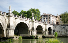 Bridge over River Tiber