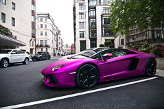 Al Thani (Lucian Bickerton) Tags: uk money colour london strange wow hotel bahrain nikon dubai purple united capital uae fuchsia kingdom wideangle tokina arab gb rims sick lamborghini epic luxury 1224mm f4 dorchester paars luxurious arabs kleur d90 althani sjeik aventador lucianbickerton lp7602