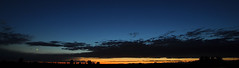 ... from Highway A22 (djjonatan) Tags: sunset italy panorama landscape nikon highway italia tramonto cielo autostrada d90