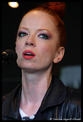 Shirley Manson (Caroline Forest Images) Tags: show music toronto canada rock radio garbage live pop electronic shirleymanson accoustic stevemarker butchvig dukeerikson theedge1021