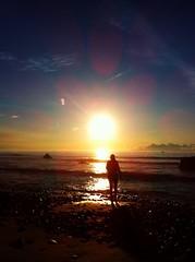 Sunrise (aycejapan) Tags: japan sunrise walk shizuoka shimoda iphone iphone4