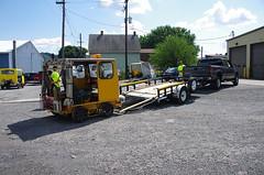 IMGP6435 (geepstir) Tags: car reading pennsylvania rail pa shamokin speeder sunbury narcoa