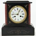 317. Victorian Aesthetic Movement Marble Mantel Clock