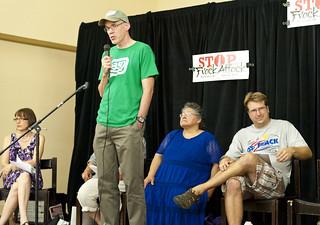 //www.flickr.com/photos/62459458@N08/7770378672/: Bill McKibben speaks at forum