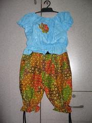 ขายชุดไทยเด็กไซส์เด็ก  3  -  7  ปี