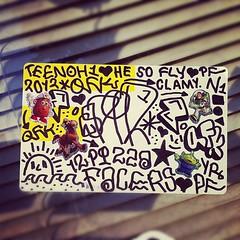 ESPIR (billy craven) Tags: chicago graffiti sticker teen handstyles slaptag espir uploaded:by=instagram qfk