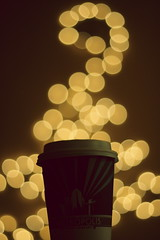 44  52 (-sunnydust-) Tags: coffee lights bokeh actually herbaltea 52weeks