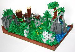 GoH: The Mystic Fountain (main) (Simon S.) Tags: castle fountain youth lego bricks v vikings challenge entry kingdoms eurobricks mitgardia