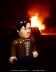 Doctor Who at A Bonfire