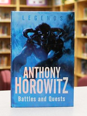 Battles and Quests (Vernon Barford School Library) Tags: china new school brazil rome reading book high god thomas library libraries hard reads folklore books battle read greece cover junior legends anthony gods covers bookcover middle quest vernon legend recent myth bookcovers nonfiction horowitz quests battles minotaur hardcover mythical yeates barford bororo thesus hardcovers 9780753419373 geriguiaguiatugo