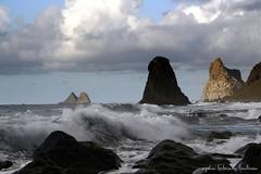Cielo y Mar (EXPLORE) (Aysha Bibiana Balboa) Tags: marina mar agua tenerife atardeceres cira benijo ayshabibianabalboa bullfotos