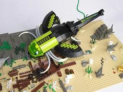 Wreck exploration (V00D00M) Tags: lego shipwreck