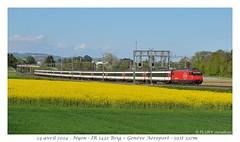 La Re 460 113-4 - Nyon (CC72080) Tags: train sbb locomotive nyon cff re460 interrégio