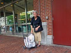 BostonMktFullCart (fotosqrrl) Tags: urban boston massachusetts streetphotography bags cart haymarket congressstreet