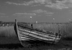 rowing boat (gena4pics) Tags: nature landscape blackwhite natur landschaft rowingboat ruderboot schwarzweis