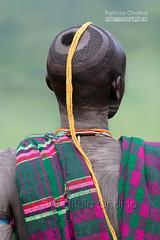 Surma's hairstyle - coiffure surma (Patricia Ondina) Tags: developingcountry ethiopianethnicity ethnic ethnicgroup africa african abyssinia eastafrica ethiopia ethiopian etiopia etiopija etiopía etiópia hornofafrica omovalley omopeople äthiopien αιθιοπία etiopien etiyopya ethnologie ethnology ethnie tribu tribe tribal ethiopie afriquedelest valléedelomo omo omoriver rivièreomo africanrift riftafricainpeuplesdelomoomopeople suri surma hairstyle haircut personne people photopatriciaondina