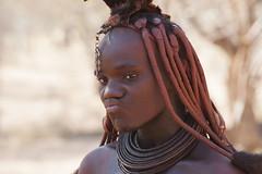 Himba - Namibia (wietsej) Tags: woman sony tribal namibia 70200 himba a900 sal70200g