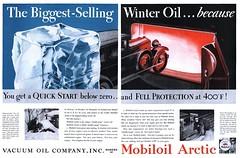 Vacuum Oil Company Mobiloil - 19311121 Post (Jon Williamson) Tags: history vintage advertising ad vintageadvertising vintagead vintascope