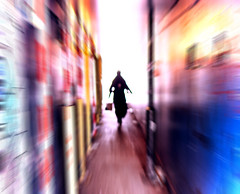 Redchurch Street, Shoreditch - London Street Photography (Nicholas Goodden) Tags: city light shadow people urban london colors silhouette speed photography colours escape candid citylife streetphotography tunnel olympus motionblur shoreditch londres mysterious faceless streetphoto colourful unposed anonymous londra urbanlife urbanphotography anonymity redchurchstreet escaping londoners streetphotographer photoderue notposed streetsoflondon urbanphotographer mirrorless unrecognisable microfourthirds