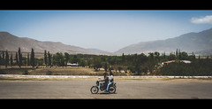 Arking around in the Andes ( Sooty ) Tags: argentina desert nowhere motorbike desolate arid salta