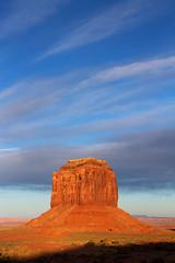 Sandstone Chunky Feature in Monument Valley (jpmckenna - Denali Bound) Tags: arizona west landscape sandstone desert highdesert monumentvalley iconic navajotribalpark getoutside