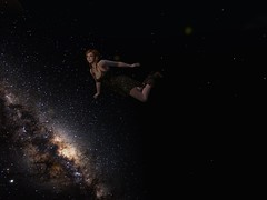 Space Cowgirl 1 (Hunter_Kingsbury) Tags: stars flying secondlife orbital meditation cowgirl pigtails outerspace summerdress addams cowboyboots chillie maitreya izzies shinda inspirespacepark argrace hunterkingsbury