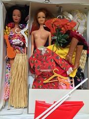 14. Flea Market Find - $20 (Foxy Belle) Tags: grass vintage toy doll market barbie skirt best hawaiian buy accessories 1970s flea bargain hulas