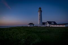 untitled-39-HDR (Tubaaage) Tags: nightphotography blue sunset sky lighthouse denmark himmel hirtshals danmark fyr solnedgang nordjylland vendsyssel visitdenmark northdenmarkregion