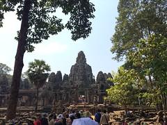 2015-04-05 10.48.28 (tananop_m) Tags: sky architecture sunrise cambodia siemreap angkorthom herritage