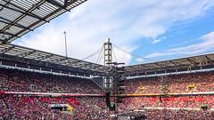 Blauer Himmel! (Ulrike Parnow) Tags: kln brings silberhochzeit rheinenergiestadion jubilumskonzert 25jahre