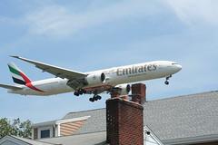 IMG_2590 (wmcgauran) Tags: boston airplane airport aircraft aviation emirates boeing bos 777 eastboston kbos a6ecp