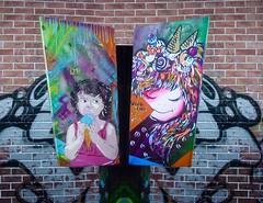 Ice cream color (D11 Urbano) Tags: color art ice girl arte venezuela caracas nia urbano helado venezolano chispas arteurbano d11 streetartvenezuela artvenezuela d11streetart arteurbanovenezuela d11art d11urbano