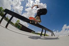 Backside Feeble (AWDPWNZ) Tags: nikon colorado die skateboarding or board bored fisheye skate co summit skateboard grind skateboarder thrasher breck teampain
