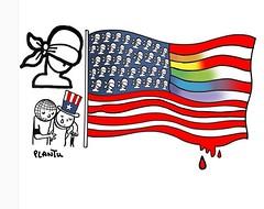 Orlando, Florida, 12 juin 2016. (byb64) Tags: orlando florida massacre lgbt tuerie