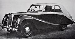 1953 Lanchester Dolphin (colinfpickett) Tags: blackandwhite classiccar vintagecar memories nostalgia 1940s 1950s nostalgic rare lanchester daysgone