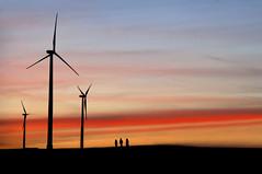 untitled . (helmet13) Tags: d80 raw windmill sunset sky persons hill studies aoi peaceaward platinumpeaceaward platinumheartaward heartaward silhouette simplicity world100f