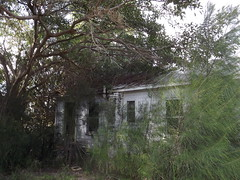 Abandoned White City Florida house on a windy overcast day (mainmanwalkin) Tags: abandoned florida whitecity portstlucie stluciecounty saintluciecounty