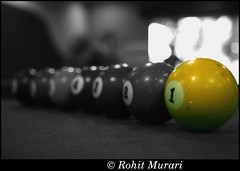 Experiments with a pool table (Rohit Murari) Tags: colours pooltable billiardsballs riotofcolours leoniaresort