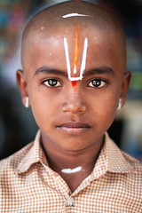 Om Namo Narayana~! (SidhArcheR) Tags: life travel light boy portrait baby india streetart art love colors beauty canon temple sadness kid eyes artistic god fineart streetphotography thoughts talent frame deviant devotee hindu emotions sorrow pilgrim balaji tirupati speechless ttd namo streetphotographer namam mfcc narayana perumal thirupathi indianportrait incredibleindia facesofindia peopleofindia indianphotographer beautifulindia devasthanam 1000d indiantalent sidharcher soulpeeking omnamonarayana